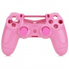 Protective Controller Case + Joystick Cover Set for PS4 - Pink