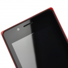 "NX SC7715 Android 4.4 WCDMA Bar Phone w / 4.0 ""écran, Wi-Fi et GPS - Rouge"