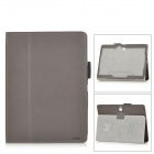 "AiSMei Flip-Open Auto Sleep PU Case w/ Stand + Card Slot + Grip for 10.5"" Samsung Tab S T800 - Blown"