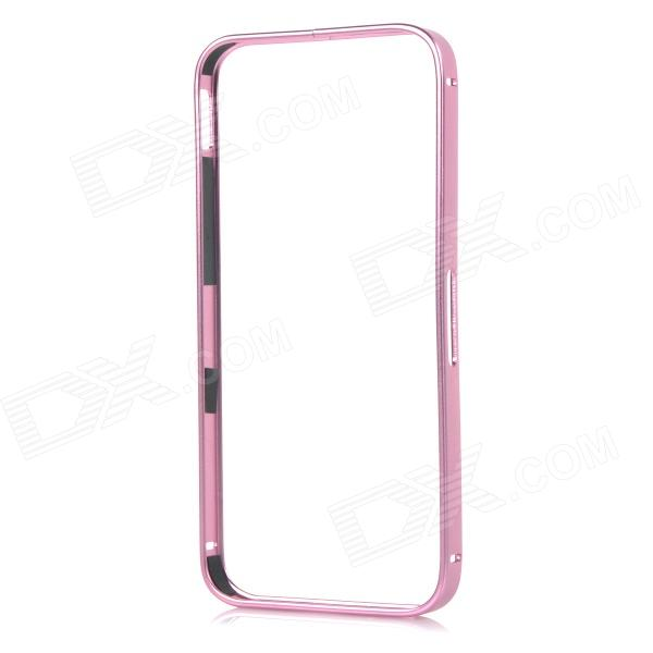Protective Aluminum Bumper Frame Case w/ Lock Catch for IPHONE 5 / 5S - Pink
