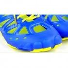 Men's Breathable Casual Rubber + TPU Chalaza Sandal - Blue + Yellow (EU Size 44)