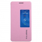 KALAIDENG Protective PU Leather Case Cover Stand for HUAWEI Honor 6 - Pink