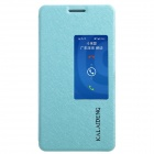 KALAIDENG Protective PU Leather Case Cover Stand for HUAWEI Honor 6 - Blue