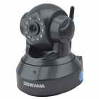 SENKAMA C7 1.0MP HD P2P Wireless Home Monitoring IP Camera w/ Wi-Fi, ONVIF, Multi Stream - Black