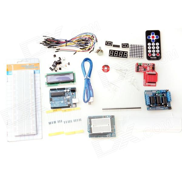 UNO R3 + L293D Motor Drive + XBee Zigbee Shield RF Learning Tools Kit for Arduino nokia 5110 lcd module white backlight for arduino uno mega prototype