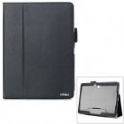 "AiSMei Protective PU Case w/ Stand / Card Slots for Samsung Galaxy Tab S 10.5"" T800 - Black"