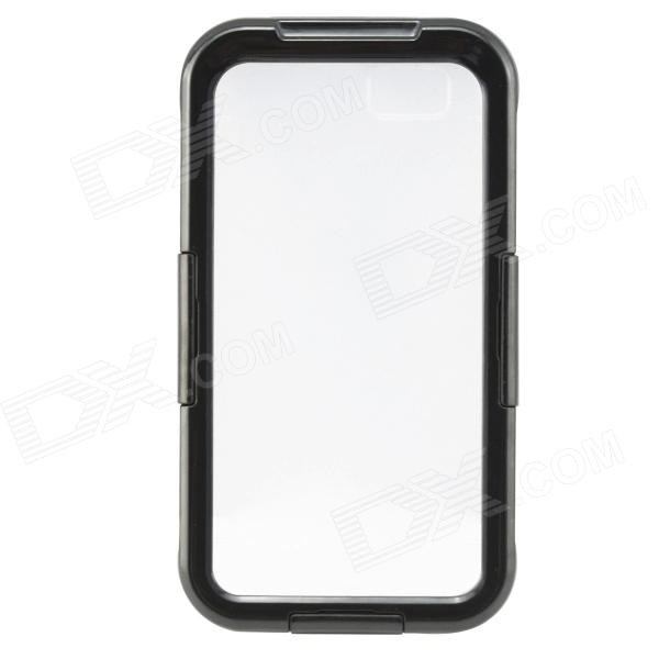 Saim Protective Waterproof Shock-resistant Shell for IPHONE 6 - Black + Transparent