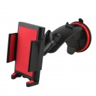 Universal Car Mounted  Bracket Holder for IPHONE / Samsung / HTC - Black + Red