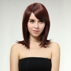 Capless Extra Long Straight Synthetic Hair Wig - Honey Red