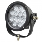 "LML-0460 60W 5400lm 6000K 12-Cree LED White Light 7"" Spot / Flood Work Light - Black (9~80V)"