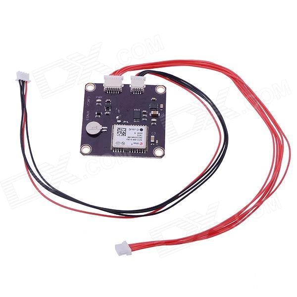 HJ NEO-6 V3.0 GPS Module for APM MWC Pirot Rabbit Flight Controller gy gps6mv1 neo 6m gps module for mwc aeroquad flight control board multicolored