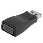 DisplayPort Male to VGA Female Adapter - Black