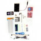 Breadboard + Resistors + LEDs Learning Module Set for Arduino Nano - Multicolored