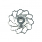 KACTUS 011 Bike Bicycle 11T Aluminum Alloy Wheels Rear Derailleur Pulley - Silver