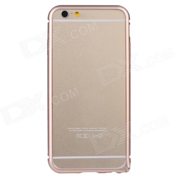 Baseus FRAPIPH6-RT0R Aviation Aluminum Protective Bumper Frame Case for 4.7'' IPHONE 6 - Rose Gold