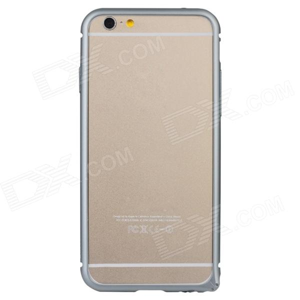 Baseus FRAPIPH6-RT0G Aviation Aluminum Protective Bumper Frame Case for 4.7'' IPHONE 6 - Grey