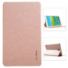 KALAIDENG Protective PU Leather Case Cover w/ Stand for Samsung Galaxy TAB S 8.4 / T700 - Gold
