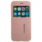 KALAIDENG Protective PU Leather Case Cover Stand for IPHONE 6 - Golden