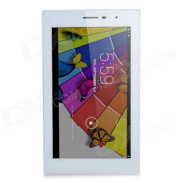 Sunjunt D703 7.0 HD Dual-Core Android 4.2 3G Tablet PC w/ 512MB RAM, 4GB ROM - Silver + White softwinern01 7 android 4 2 tablet pc w 512mb ram 4gb rom white blue