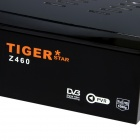 Tiger Z460 300 TV-kanaler digital satellitt-mottaker + IPTV Wireless WiFi - Svart