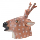 SYVIO Sika Deer Mask for Halloween / Cosplay / Costume Party - Brown