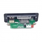 "1.0"" LED MP3 decodificador módulo Board w / USB / Mini USB / SD / FM / controle remoto - prata (5V)"