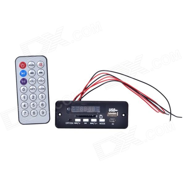 1.0 LED MP3 Decoder Module Board w/ USB / Mini USB / SD / FM / Remote Control - Black (5V) подвеска happy baby jolly garden