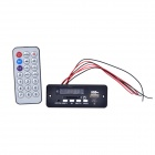 "1.0"" LED MP3 Decoder Module Board w/ USB / Mini USB / SD / FM / Remote Control - Black (5V)"