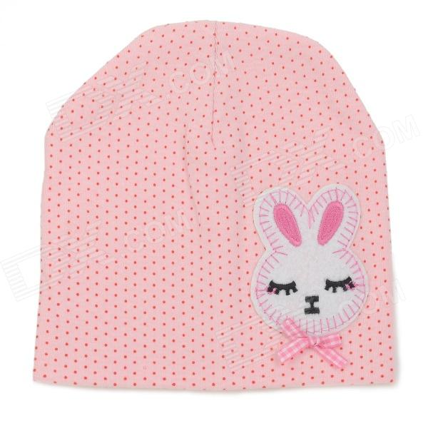Fashion Four Seasons Soft Cotton Hat for 0~3 Years Old Children - Pink