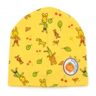 Fashion Four Seasons Soft Cotton Hat for 0~3 Years Old Children - Orange + Green + Multi-Color
