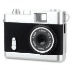 Ewtto ET-N3614 Mini 2.0MP CMOS Digital Camera DV - Black + Silver