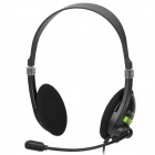 HYUNDAI HY-302MV 3.5mm Plug Stereo Headphone - Black