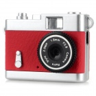 Ewtto ET-N3614 Mini 2.0MP CMOS Digital Camera DV - Red + Silver