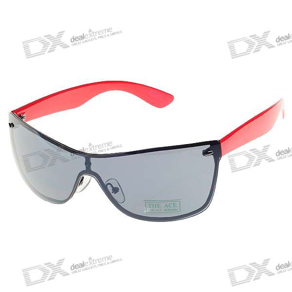 UV400 UV Protection PC Lens Sunglasses with Carrying Pouch fashion uv400 uv protection resin lens sunglasses with pouch