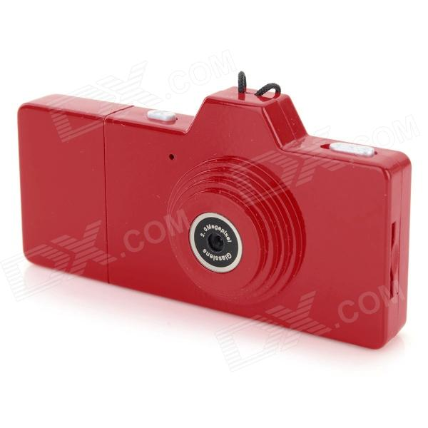 EWTTO ET-N3612 Mini 1.3MP CMOS Digital Camera DV - Red usb rechargeable mini 1 44 lcd 2 0m pixels cmos video camera red tf slot