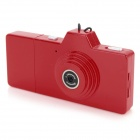 EWTTO ET-N3612 Mini 1.3MP CMOS Digital Camera DV - Red