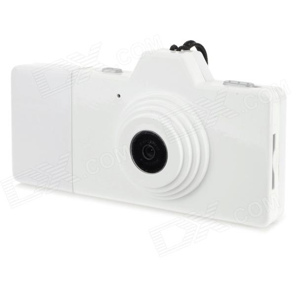 EWTTO ET-N3612 Mini 1.3MP CMOS Digital Camera DV - White