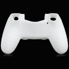 Protective Silicone Sleeve Case for PS4 Controller - White