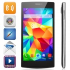 "V5 Android 4.2 Dual-core WCDMA Bar Phone w/ 5.5"" Screen, Wi-Fi and Bluetooth - Black"