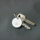 Bluetooth V4.1 anti-pérdida recordatorio inteligente Keyfinder disparador remoto para el IPHONE - blanco