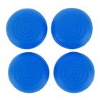 Silicone Thumb Grips Joystick Caps for XBOX ONE / XBOX 360 / PS4 / PS3 Controller - Blue (4 PCS)