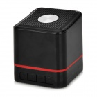 Portable Q1 Mini Bluetooth v2.1 Speaker w/ TF / FM / Microphone - Black