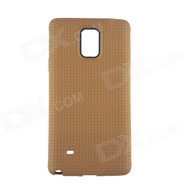 Protective TPU Back Case for Samsung Galaxy Note 4 - Golden