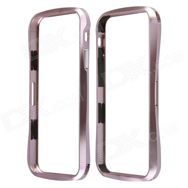 Protective Anti-radiation Aluminum Alloy Bumper Frame Case for IPHONE 5 / 5S - Champaign Gold protective aluminum alloy bumper frame case for iphone 5 rose gold