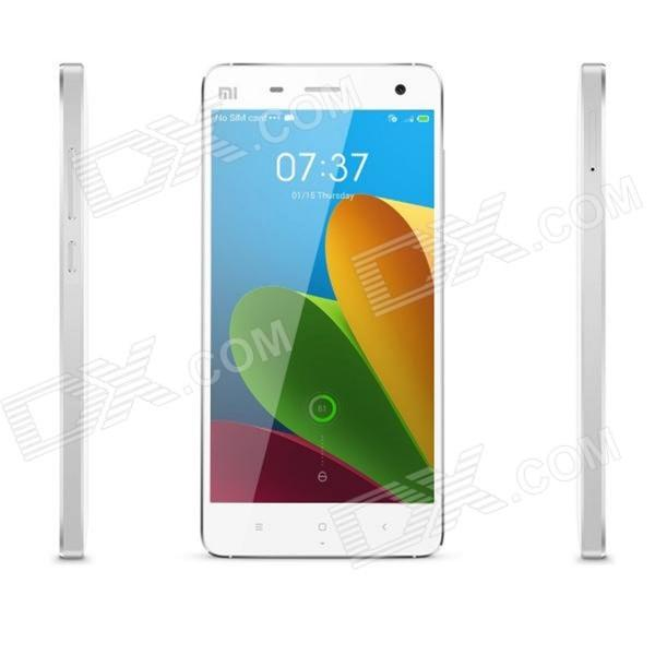 Xiaomi M4 Quad-core Android 4.4.3 Bar Phone w/ 5.0 Screen, RAM 3GB, ROM 64GB - White
