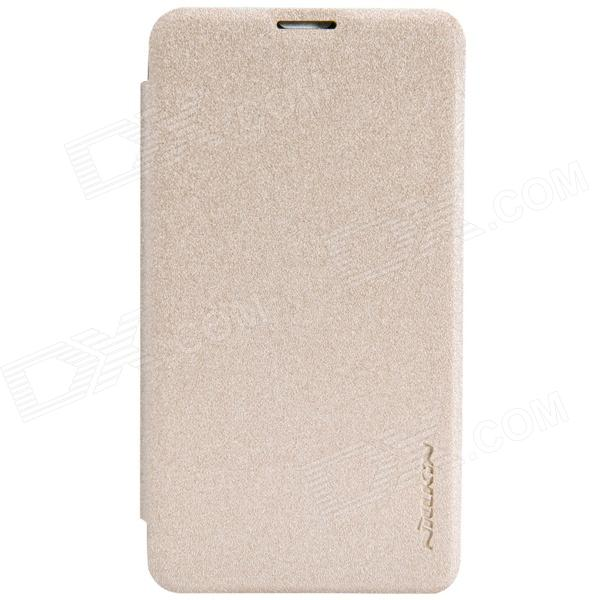 NILLKIN Protective PU Leather + PC Case Cover for Nokia Lumia 530 - Golden цена