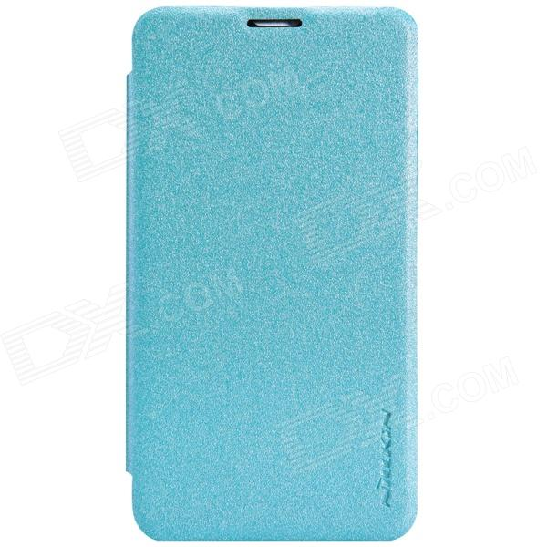 NILLKIN Protective PU Leather + PC Case Cover for Nokia Lumia 530 - Blue чехлы для телефонов nillkin nokia lumia 530 sparkle leather case