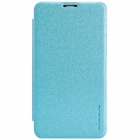 NILLKIN Protective PU Leather + PC Case Cover for Nokia Lumia 530 - Blue