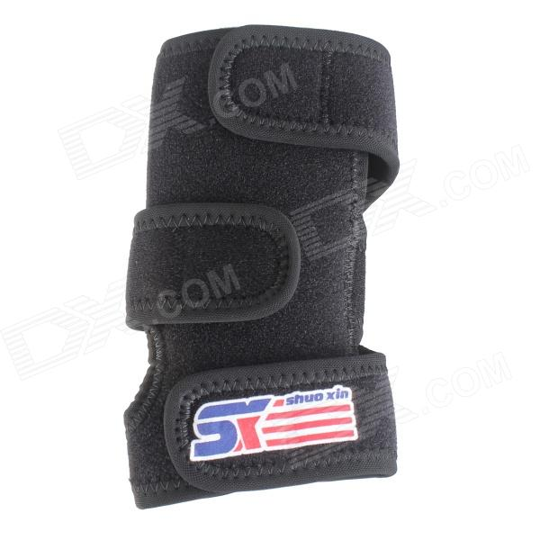 ShuoXin SX499 Professional Sports Right Wrist Hand Palm Guard Protector - Black