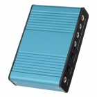 6-CH Optical USB Audio Controller - Blue + Black